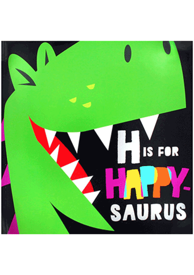 H is for Happy-saurus Cover