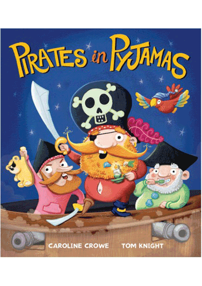 Pirates in Pyjamas Cover