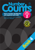 Number Counts: Pt A - Number identification (KS2) Bk 4