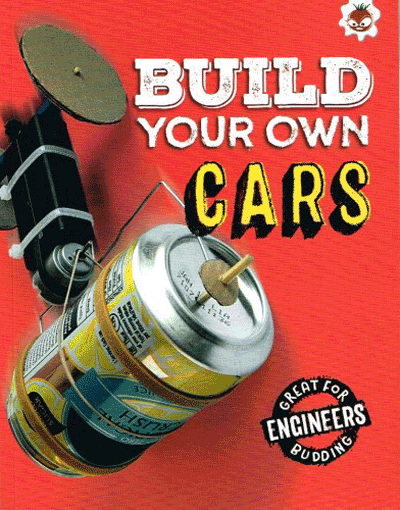 Build Your Own - Cars Cover