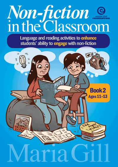 Non-fiction in the Classroom Bk 2 Ages 11-13 Cover