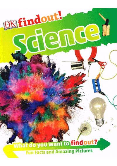 DK Findout! - Science Cover