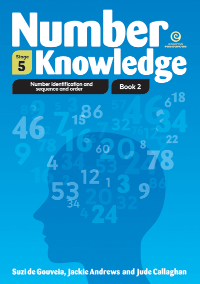 Number Knowledge: Sequence and order Bk 2 (Stage 5) Cover