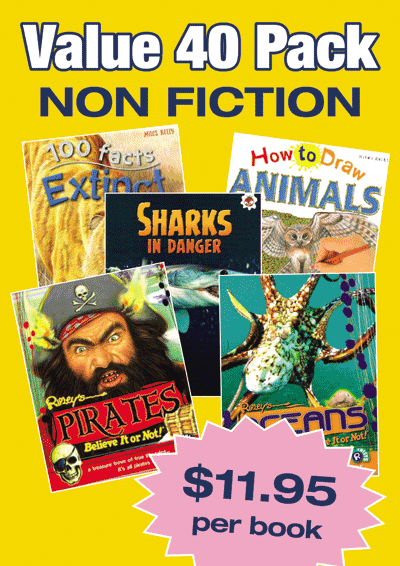 Non-Fiction Variety Pack – 40 assorted picture book Cover