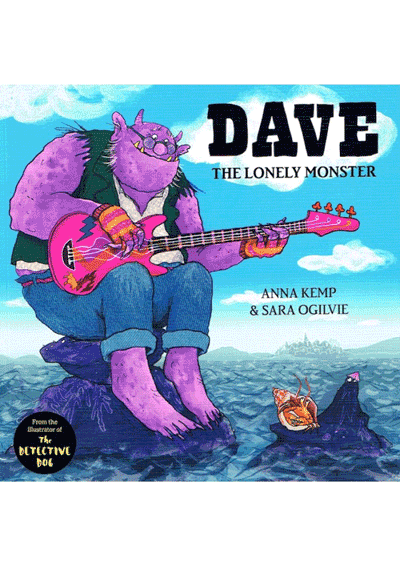 Dave the Lonely Monster Cover