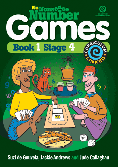 No Nonsense Number Games Bk 1: Stage 4 Cover