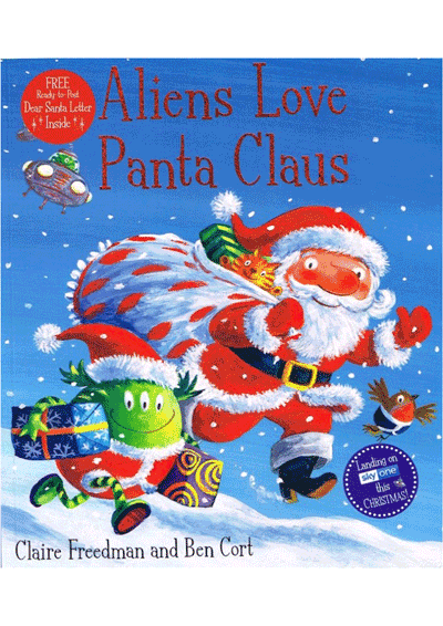 Aliens Love Panta Clause Cover
