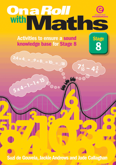 On a Roll with Maths Stg 8 Cover