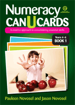 Numeracy CAN U CARDS Yrs 4-6 Platform 2 Bk 1