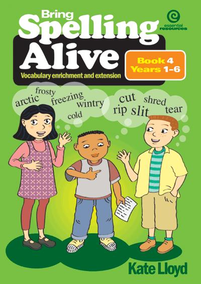 Bring Spelling Alive Bk 4 Yrs 1-6 Cover