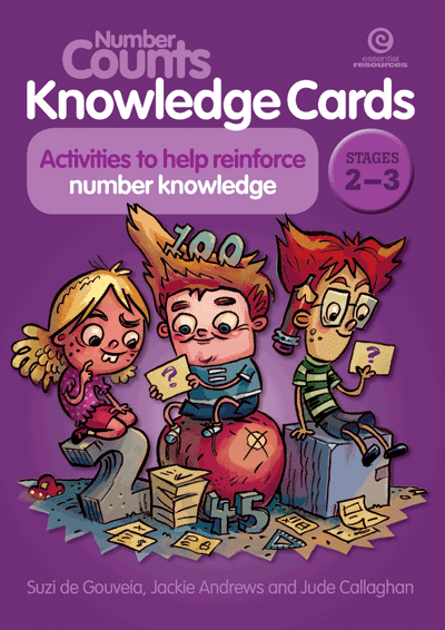 Number Counts Knowledge Cards Stages 2-3 Cover