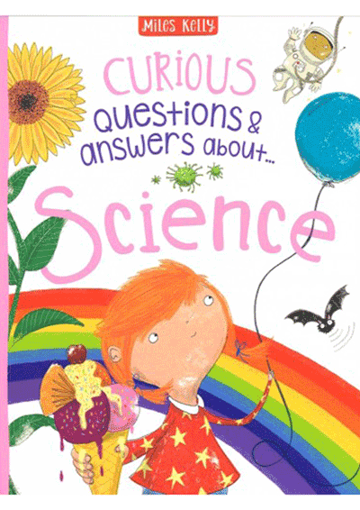 Curious Q&A - Science Cover