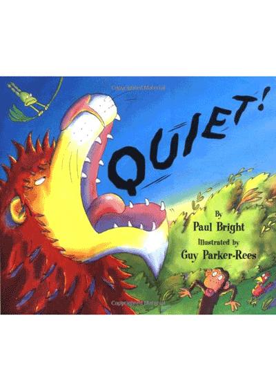Quiet! Cover