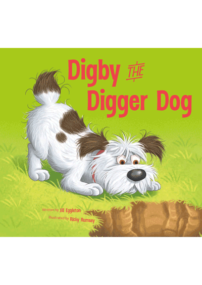 Digby the Digger Dog Cover