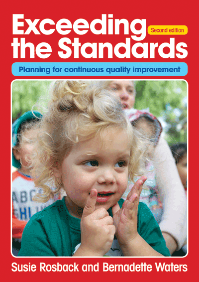 Exceeding the Standards - Second edition Cover