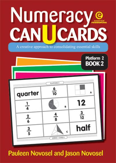 Numeracy CAN U CARDS Yrs 4-6 Platform 2 Bk 2 Cover