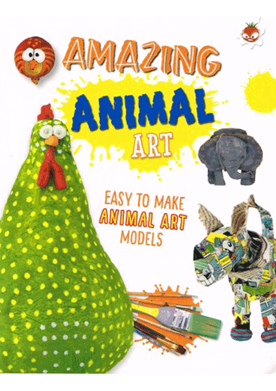 Wild Art - Amazing Animal Art Cover