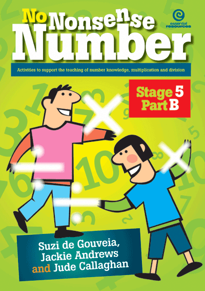 No Nonsense Number - Mult & Div: Stage 5 Part B Cover