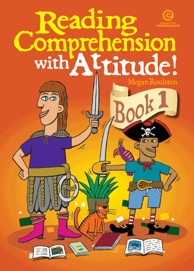 Reading Comprehension with Attitude! Bk 1 Cover