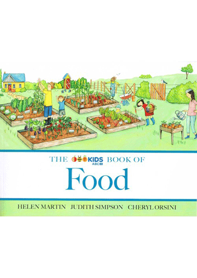ABC Book of Food Cover