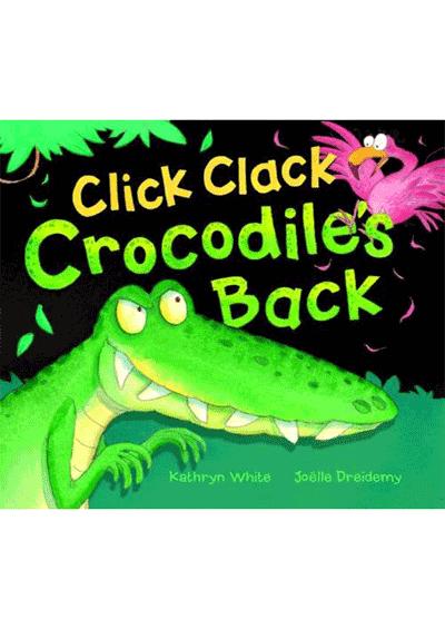 Click Clack Crocodiles Back Cover