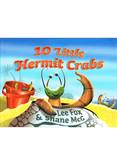 10 Little Hermit Crabs Cover