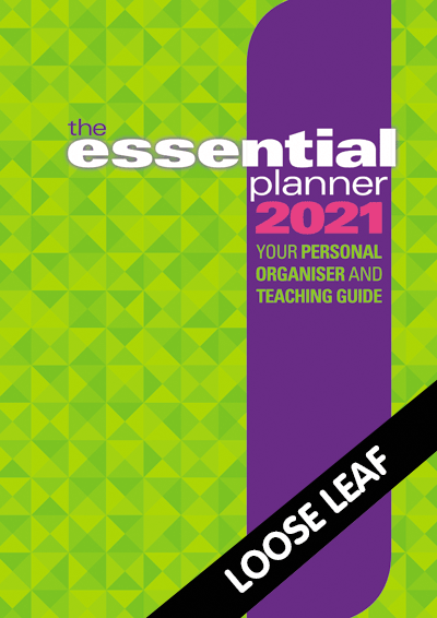 The Essential Planner 2021 Loose leaf Cover