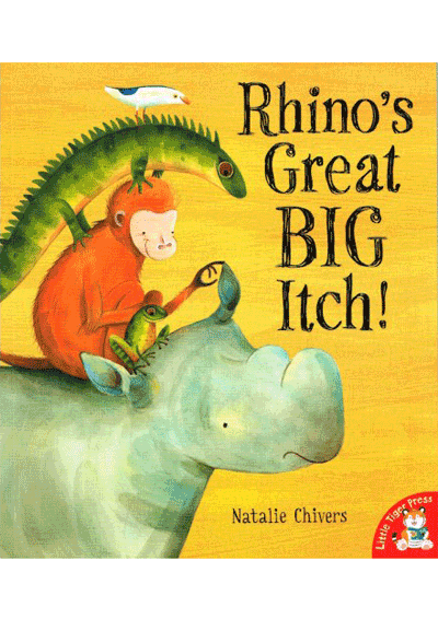 Rhino's Great BIG Itch! Cover