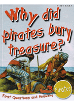 Why did pirates bury treasure?