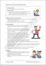 Speeches Lesson Plan 4