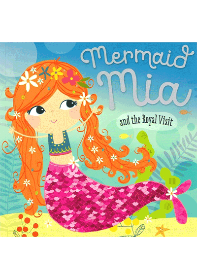 Mermaid Mia & the Royal Visit Cover