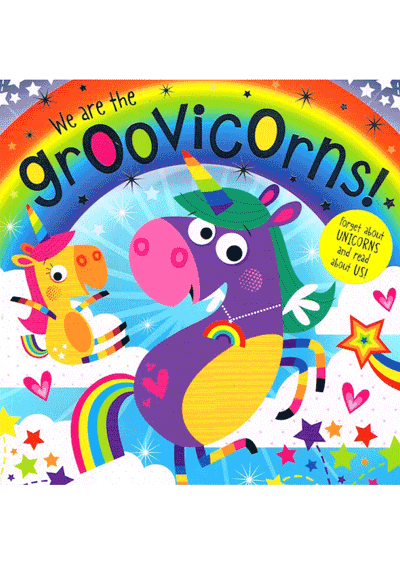 We are the Groovicorns Cover
