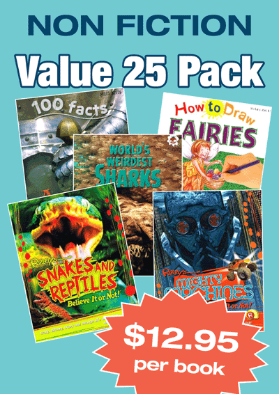 Non-Fiction Variety Pack – 25 assorted picture book Cover