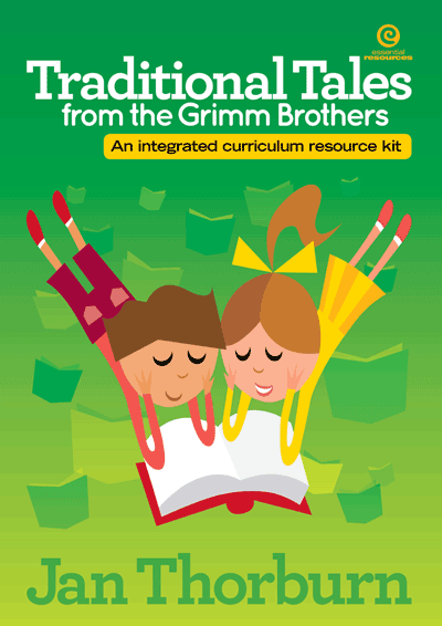 Traditional Tales from the Grimm Brothers Cover
