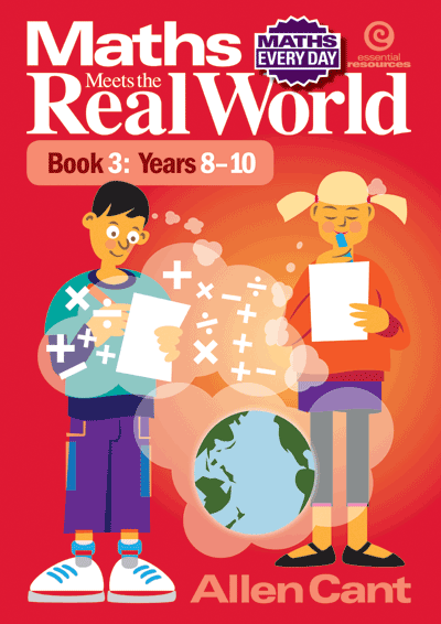 Maths Every Day: Maths Meets The Real World Bk 3: Years 8-10 Cover
