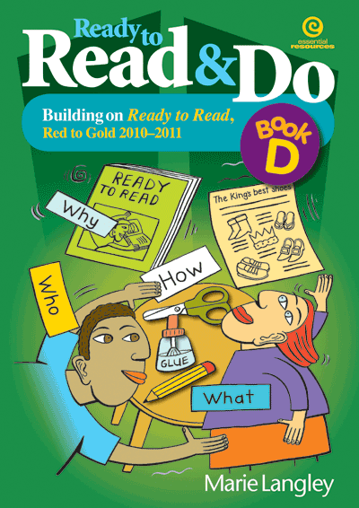 Ready to Read & Do, Bk D Cover