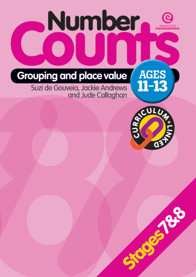Number Counts: Grouping and place value  (Stages 7 & 8) Cover