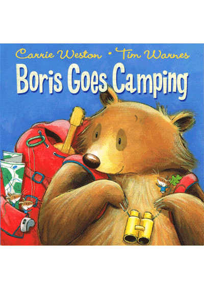 Boris Goes camping Cover