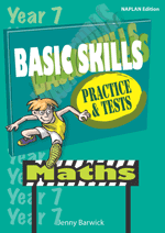 Basic Skills Practice & Tests: Maths Year 7