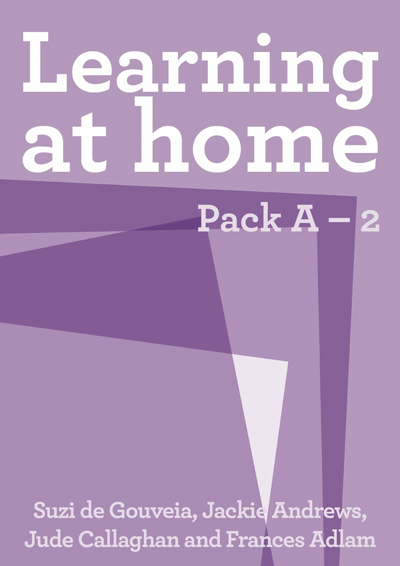 Learning at Home: Pack A – 2 Cover