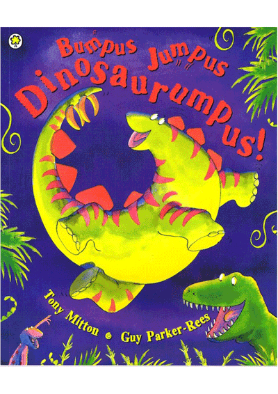 Bumpus Jumpus Dinosaurumpus! Cover