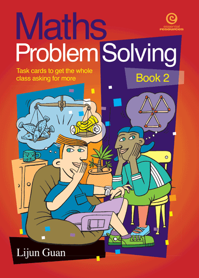 Maths Problem Solving: Task cards Bk 2 Cover