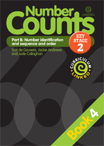 Number Counts: Pt B - Number identification  (KS2) Bk 4