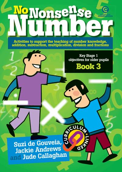 No Nonsense Number: KS 1 for older pupils Bk 3 Cover