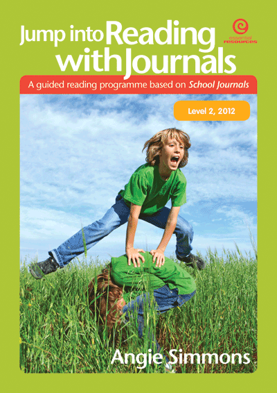 Jump into Reading with Journals L2, 2012 Cover