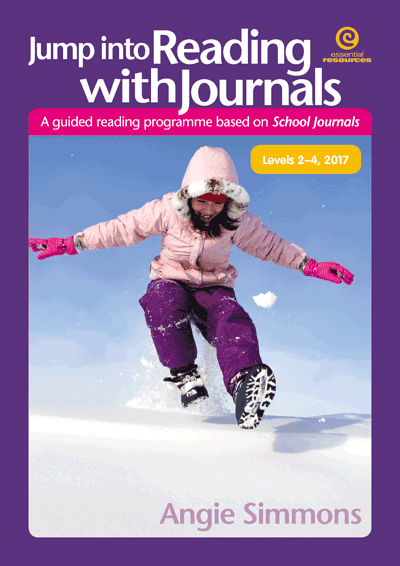 Jump into Reading with Journals L2-4, 2017 Cover
