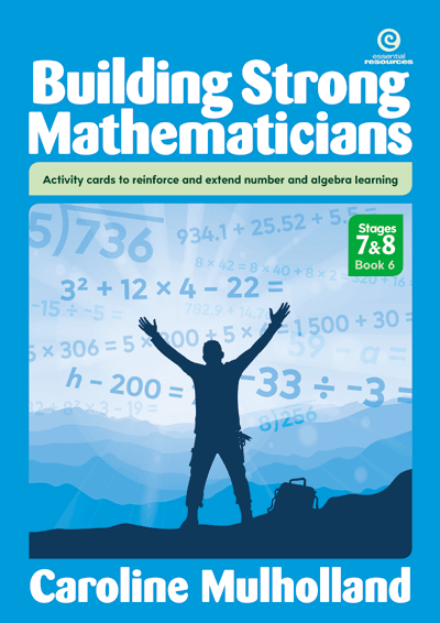 Building Strong Mathematicians Bk 6 Cover