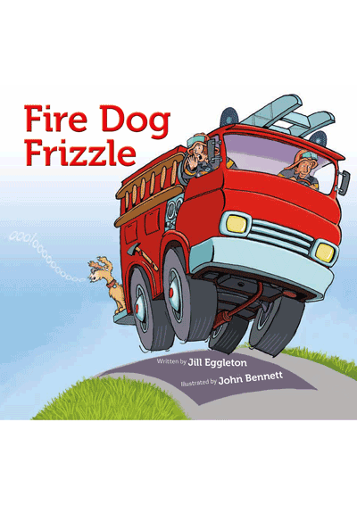 Fire Dog Frizzle Cover