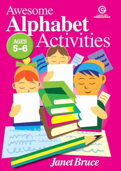 Awesome Alphabet Activities for Juniors Cover