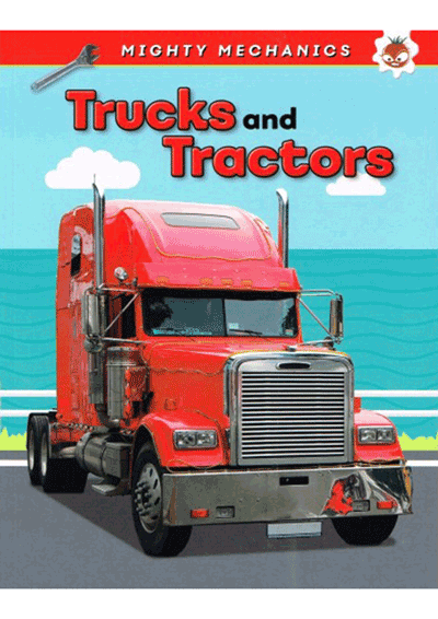 Mighty Mechanics - Trucks & Tractors Cover